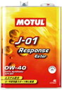 J-01 Response Ester 0W40 4L