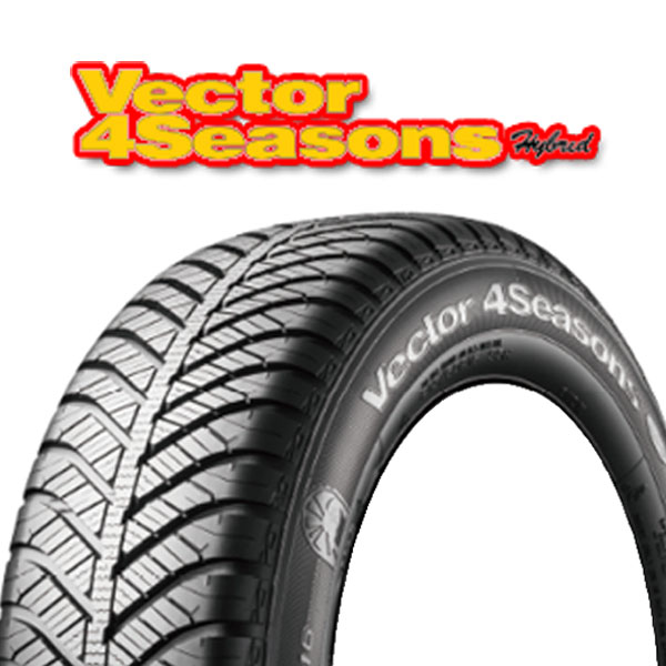 2016年新商品 オンライン◆1年中走れる オールシーズンタイヤ グッドイヤー ベクター4シーズンズ ハイブリッド 215/50R17 95H XL G 1本:デリパ 夏タイヤと冬タイヤの性能を兼ね備えています。