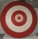 【送料無料!】本式野点傘 5尺 (緑白、赤白)