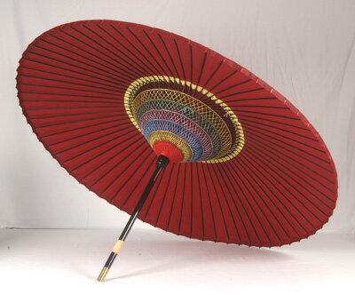 【送料込み!改定価格】妻折野点傘 3.5尺
