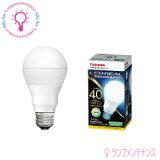 東芝 LDA4N-G/40W(E26*4.4W*昼白色相当)一般電球40W相当*40000h ※調光不可【旧品番:LDA5N-G/40W】[LDA4NG40W]