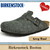 �ӥ륱��ȥå� �ܥ��ȥ� ���졼 (���쥤/��) ������ (�ե����) ��ä����� (�̾���/�쥮��顼) ���ޡ��Ȥ���(����/�ʥ?) BIRKENSTOCK BOSTON GREY(GRAY) WOOL �ӥ륱��� ���� ��ǥ����� ����å�������� ����������ǯ��OK ��������ե�������