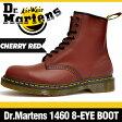【アウトレット特別価格 Z676】ドクターマーチン 1460 8アイ (8ホール) ブーツ チェリーレッド 定番の赤 本革 (レザー) レースアップ (編み上げ) シューズ Dr.Martens 8EYE (8HOLE) BOOT CHERRY RED メンズ ショートブーツ 海外正規品 送料無料 28.0(UK9/US10)