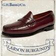 ジーエイチバス ラーソン バーガンディ ローファー Dワイズ/EEEワイズ G.H.BASS LARSON