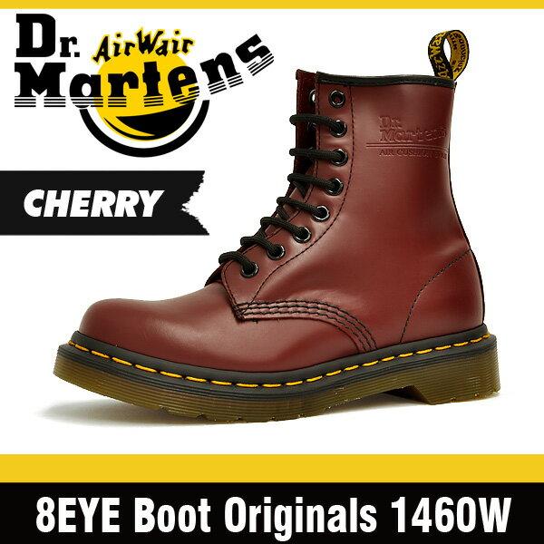 ドクターマーチン (Dr. Martens)8ホール ブーツ チェリーレッド レディース R11821600 1460 8 Hole Boot 【ドクターマーチン Dr.Martens 送料無料・代引手数料無料】