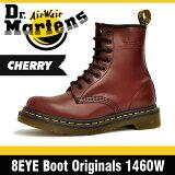 ドクターマーチン (Dr. Martens)8ホール ブーツ チェリーレッド レディース R11821600 1460 8 Hole Boot