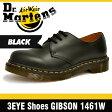 ドクターマーチン (Dr. Martens)ギブソン 3ホール シューズ ブラック レディース R11837002 1461 3 Hole Shoes