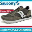 サッカニー ジャズ オリジナル チャコール/ホワイト Saucony JAZZ ORIGINAL CHARCOAL/WHITE