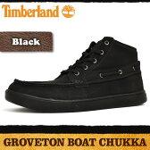 ティンバーランド グローブトン ボート チャッカ ブラック 2251B Timberland GROVETON BOAT CHUKKA BLACK