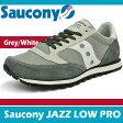 サッカニー ジャズ ロープロ グレー/ホワイト Saucony JAZZ LOW PRO GREY/WHITE