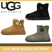 【海外正規品】アグ ミニ ベイリー ボタン ブーツ ムートン 3352 UGG MINI BAILEY BUTTON BOOTS