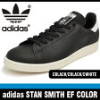 アディダス スニーカーメンズ スタン スミス EF COLOR ブラック/ブラック/ホワイト adidas STAN SMITH EF COLOR CBLACK/CBLACK/CWHITE AQ4652