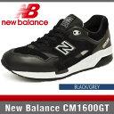ニューバランス CM1600GT ブラック/グレー Dワイズ New Balance BLACK/GREY