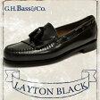 ジーエイチバス レイトン ウィージャンズ ブラック Dワイズ G.H.BASS LAYTON WEEJUNS BLACK