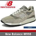 ニューバランス M998 グレー Dワイズ New Balance
