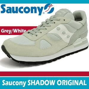 ���å��ˡ�����ɥ����ꥸ�ʥ륰�졼/�ۥ磻��SauconySHADOWORIGINALGREY/WHITE