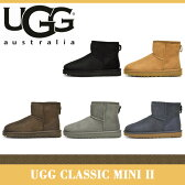 【海外正規品】アグ ブーツ レディース ウィメンズ クラシック ミニ II UGG CLASSIC MINI II 1016222