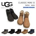 UGG アグ クラシックミニ2 ショートブーツ レディース ムートンブーツ シープスキン 1016222