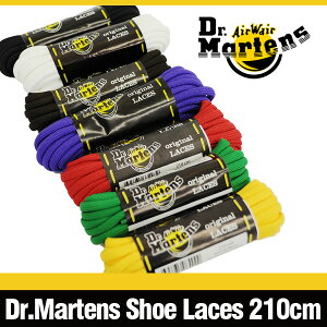 �ɥ������ޡ��������10�ۡ���֡����ѥ��塼�졼��(210cm)�֥�å�/�֥饦��/�����/�ѡ��ץ�/��å�/�ۥ磻��/�����?Dr.MartensShoeLaces