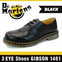 �y�h�N�^�[�}�[�`���̃u�[�c�S�i���������E���萔�������z[�|�C���g10�{]�y1�����{������s�\��z�h�N�^�[�}�[�`�� 3�A�C �V���[�Y �M�u�\�� 1461 �u���b�N �X���[�X 3�z�[�� Dr.Martens 3EYE Shoes GIBSON 1461