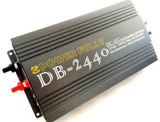 提高直流-直流轉換器 (加強穩定助推器) 12 VDC > 24VDC/35A