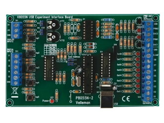 Electronic tool kit (USB test Internet interface board) K8055N