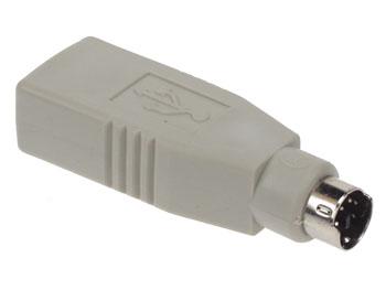 USB 변환 어댑터 A 여성-PS2 컷