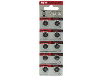 Button watch batteries LR1130/AG10 10 pieces