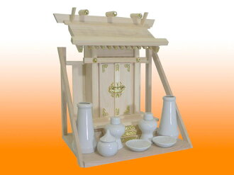 Altar set shelf with wall-one God altar fittings set included