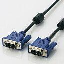 エレコム RoHs対応D-sub15ピン(ミニ)ケーブル/ノーマル/15m/ブラック CAC-L15BK/RS