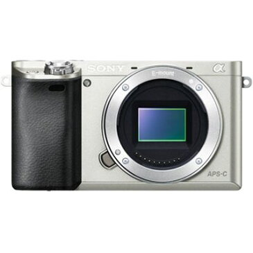 【代引手数料無料】ソニー 高速AFと高画質を両立した小型・軽量デジタル一眼カメラ α6000 (シルバー) (ILCE6000S) ILCE-6000-S【納期目安:追って連絡】