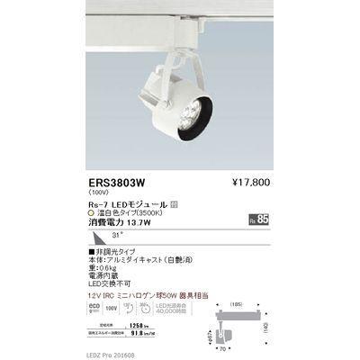 遠藤照明 LEDZ Rs series スポットライト ERS3803W