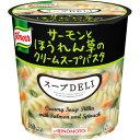 味の素 クノールスープDELI サーモンとほうれん草のクリームスープパスタ 6個セット E202929H