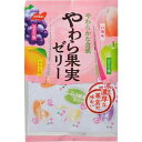 ノーベル製菓 【ケース販売】ノーベル やわらか果実ゼリー 230g×6袋 E377663H