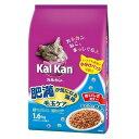 マースジャパンリミテッド カルカン ドライ 毛玉ケア 肥満が気になる猫用 まぐろと野菜味 1.6kg 4902397839804