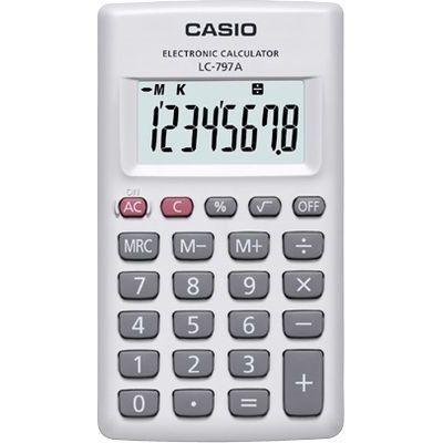 カシオ 電卓 LC-797A-N【納期目安:2週間】