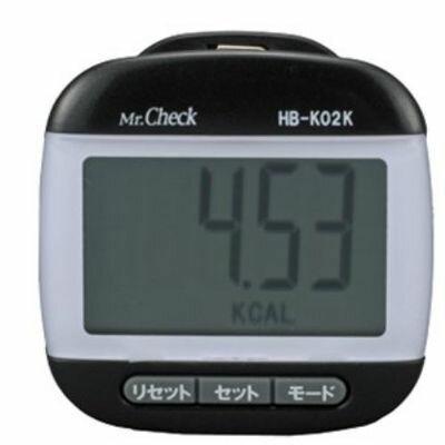 オーム電機 デカ表示 歩数計 HB-K02Kの商品画像