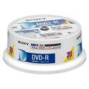 ソニー DVD-R 16倍速 20枚組 20DMR47HPHG-16X