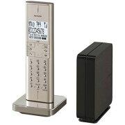 シャープ デジタルコードレス電話機(ゴールド系) JD-XF1CL-N【納期目安:約10営業日】