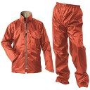 Makku(マック) マック ライジング マック 全3色 6サイズ レインスーツ 上下 コーラル オレンジ M 2レイヤー 止水テープ フード着脱式 DD-08520