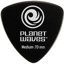 PLANETWAVE 【25個セット】Classic Celluloid Picks-Wide Shape-【Medium 0.7mm】 Black25枚セット(2CBK4-25) / Planet Waves 0019954929534