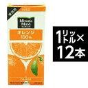 その他 コカ・コーラ (コカコーラ) ミニッツメイド オレンジ 100% 1L紙パック×12(6×2)本入 ds-725398