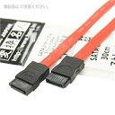 その他 (まとめ)変換名人 SATA 2 ケーブル ストレート30cm SATA-IICA30/V【×10セット】 ds-1762236