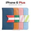 その他 Happymori iPhone6 Plus Reason Ave. Diary ネイビー ds-1823368