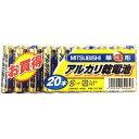 三菱電機(乾電池) 三菱 アルカリ乾電池 単3形 LR6N/20S 20本入 4902901642647