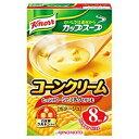 その他 (まとめ)味の素 クノール カップスープ コーンクリーム 1箱(19.2g×8食)【×10セット】 ds-2182141