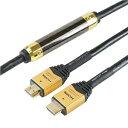 その他 HORIC(ホーリック) イコライザー付き HDMIケーブル 20m ゴールド HDM200-007 ds-2197876