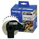 その他 (まとめ) ブラザー DKテープ 長尺紙テープ(大)62mm×30.48m 白/黒文字 DK-2205 1個 【×10セット】 ds-2227445