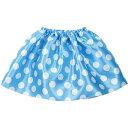 アーテック 水玉ソフトサテンスカート 水色 ATC-4678