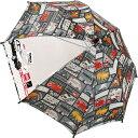 ショッピングトミカ その他 長傘 子供用 手開き キッズ傘 トミカ コミック 45cm HH-00810